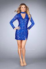 25373 La Femme Short Dress