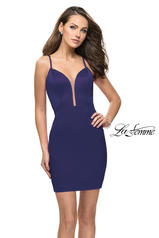 26638 La Femme Short Dress