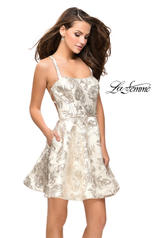 26656 La Femme Short Dress