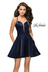 26659 La Femme Short Dress