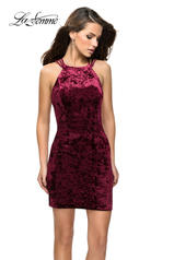 26663 La Femme Short Dress