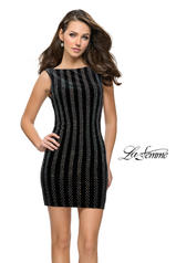 26687 La Femme Short Dress