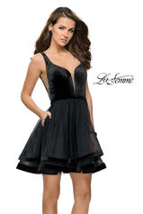 26701 La Femme Short Dress