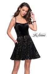26785 La Femme Short Dress