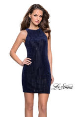 26789 La Femme Short Dress