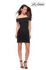 27087 La Femme Short Dress