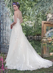 Laverna-6MT200 Ivory Over Blush/Silver Accent back