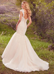 Keely-7MN311LU Ivory Over Light Gold back