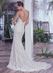 Mirelle-6MT765 Ivory Over Champagne/Pewter Accent back