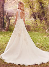 Ophelia-7MS378 Ivory/Pewter Accent back