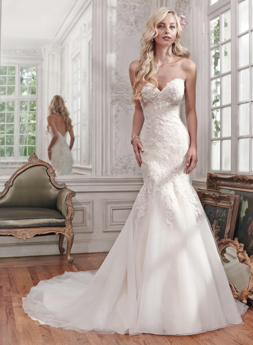 Maggie bridal by maggie sottero miranda 6ms267 maggie for Maggie sottero couture wedding dress
