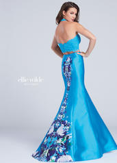 EW117004 Turquoise/Multi back