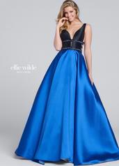 EW117144 Black/Royal Blue front