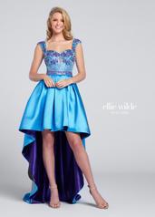 EW117164 Turquoise/Purple front
