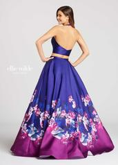 EW118001 Dark Purple/Multi back