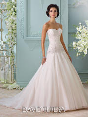116214 Ora - David Tutera for Mon Cheri Bridal