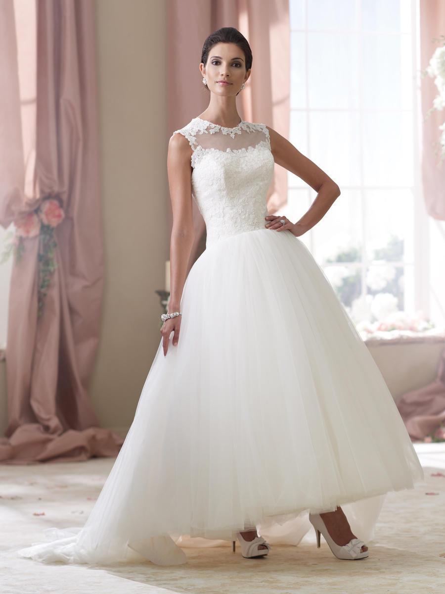 David tutera bridals 114294 elsie david tutera for mon for Mon cheri wedding dress prices