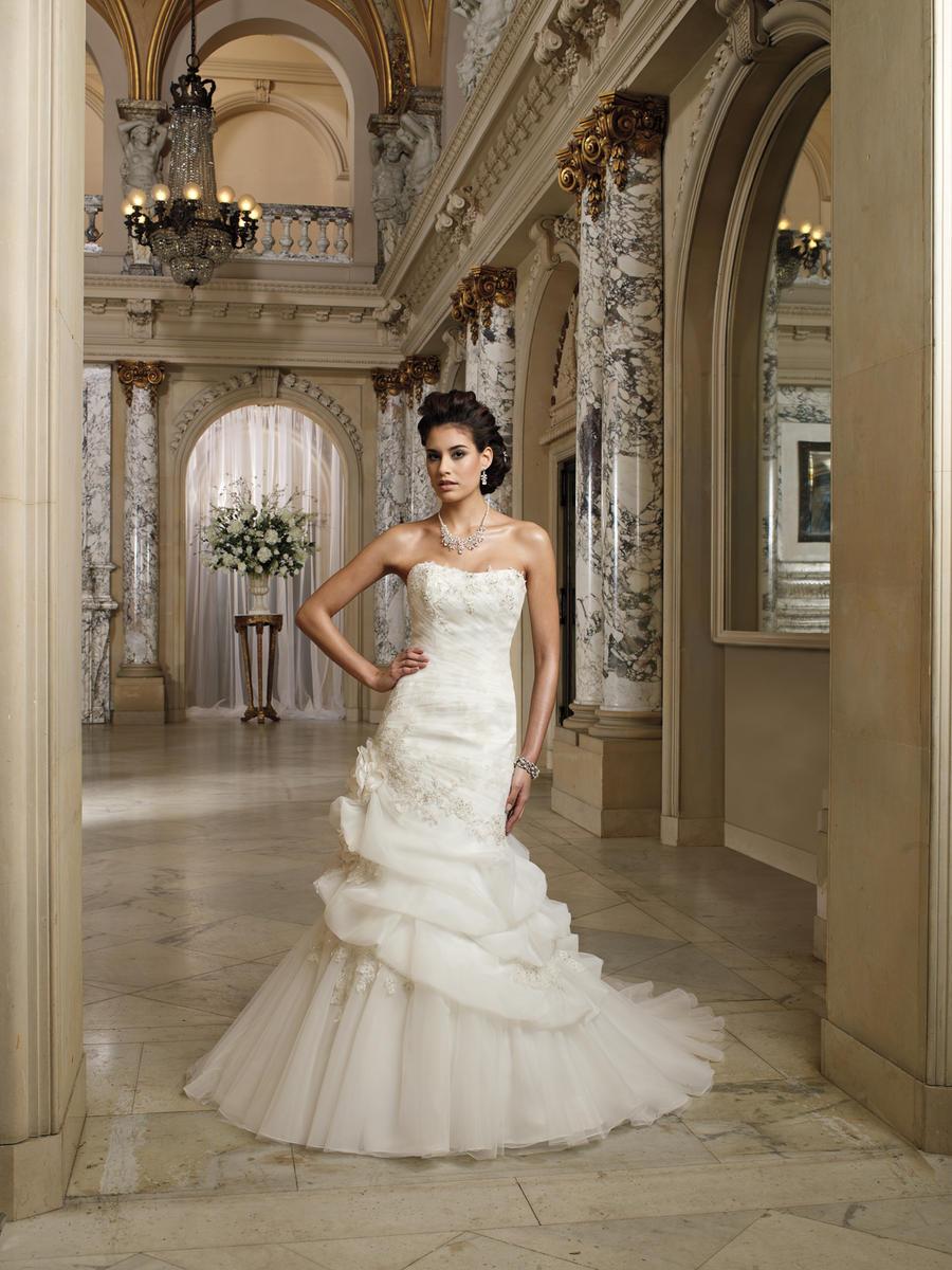 David Tutera For Mon Cheri Bridal David Tutera Bridals 212256 Lona David Tutera For Mon Cheri