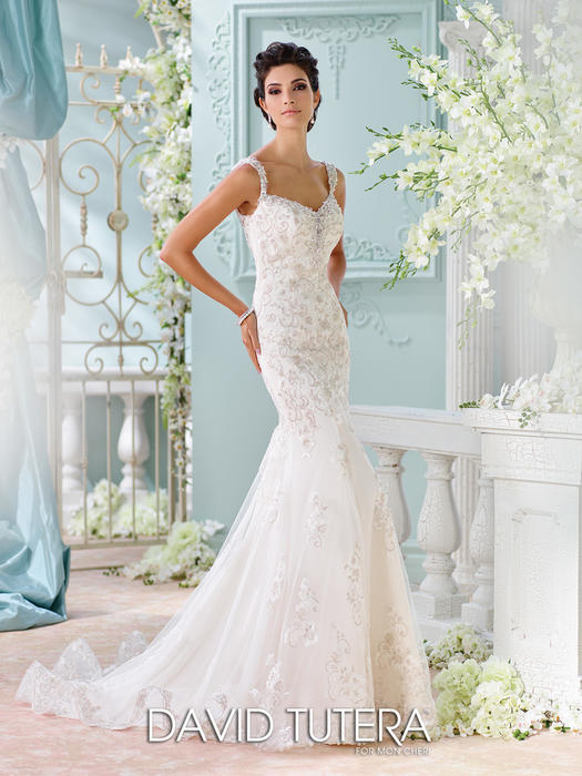 Colesha - David Tutera for Mon Cheri Bridal