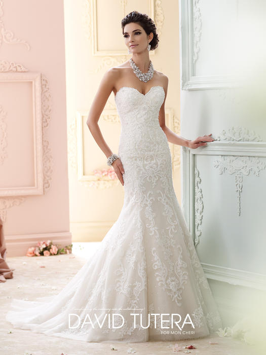Cass - David Tutera for Mon Cheri Bridal