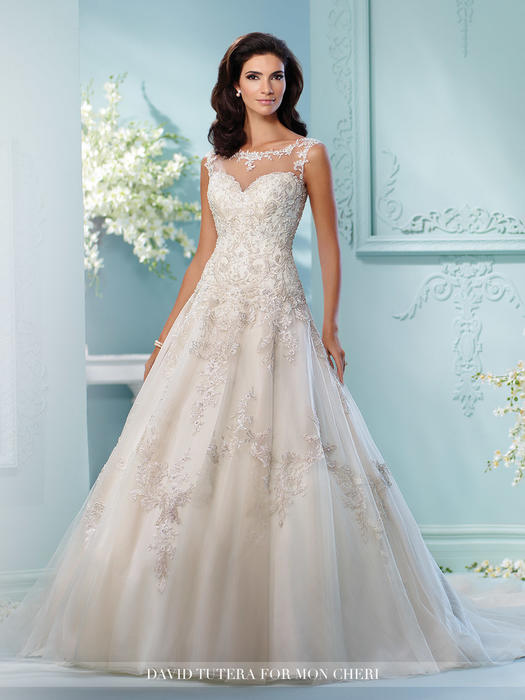 Lapis - David Tutera for Mon Cheri Bridal