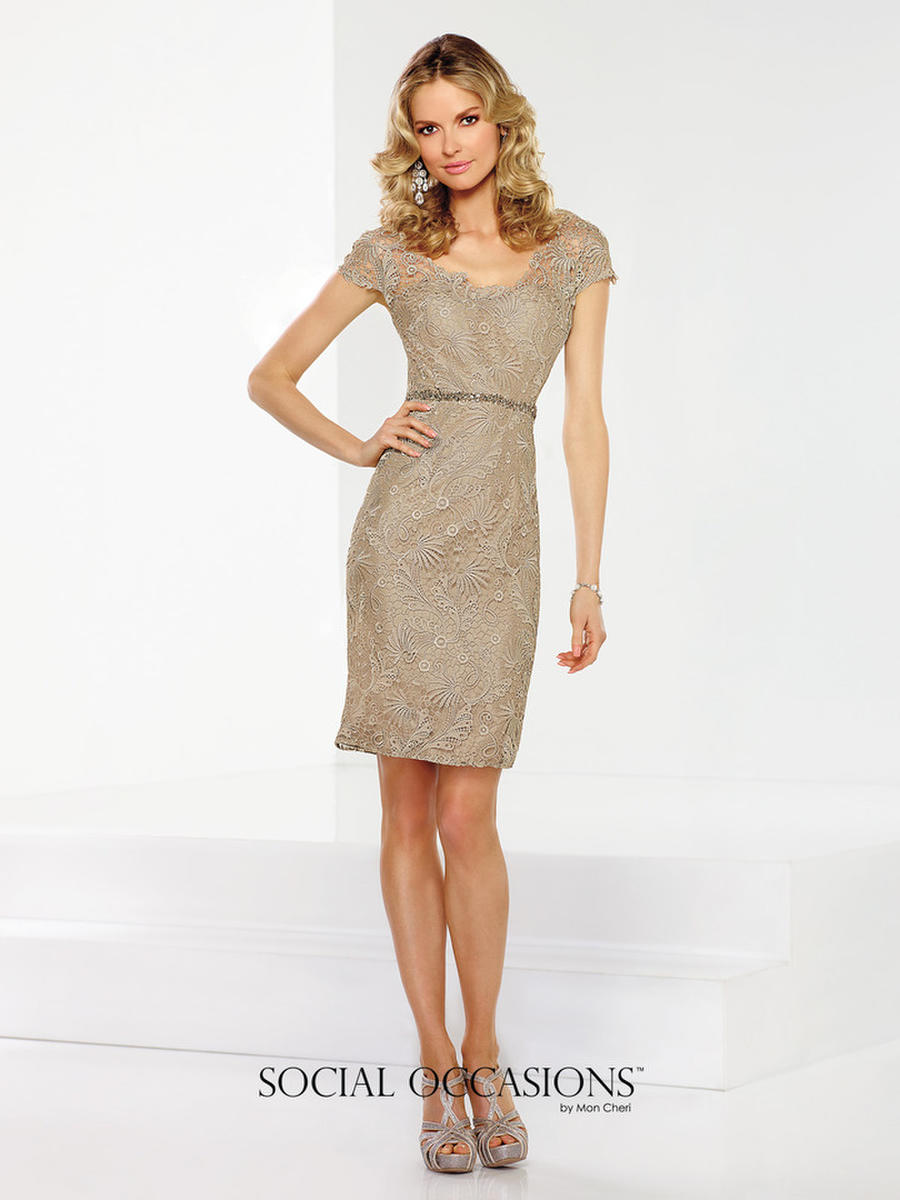 Social occasions by mon cheri 116836 social occasions by for Cocktail dress for outdoor wedding