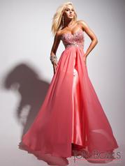 113540 Strapless Skirt Overlay