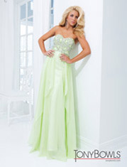 Green Strapless