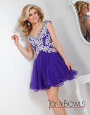 TS21317 Beaded Cap Sleeve