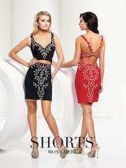 TS21572 Shorts by Mon Cheri