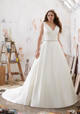 Julietta Plus Size Bridal by Morilee