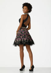 33001 Black/Multi back
