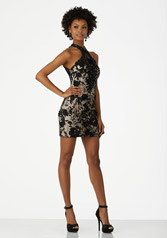 33031 Black/Nude front