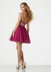 33032 Black Cherry/Nude back
