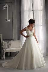 5261 Blu Bridal Collection by Mori Lee