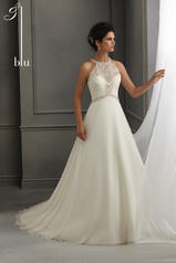 5264 Blu Bridal Collection by Mori Lee