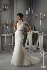 5268 Blu Bridal Collection by Morilee