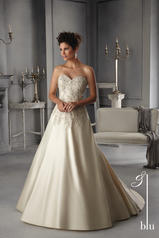 5269 Blu Bridal Collection by Mori Lee