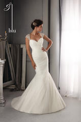 5270 Blu Bridal Collection by Mori Lee