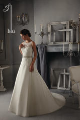 5271 Blu Bridal Collection by Mori Lee