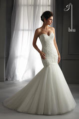 5272 Blu Bridal Collection by Mori Lee