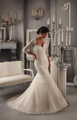 5275 Blu Bridal Collection by Mori Lee