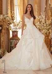 5465 Blu Bridal Collection by Morilee