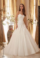 5470 Blu Bridal Collection by Morilee