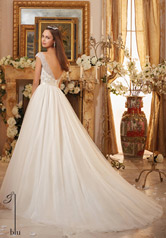 5476 Ivory/Champagne/Silver back