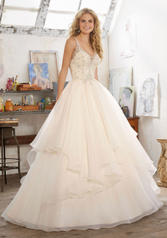 8105 Ivory/Champagne/Silver front