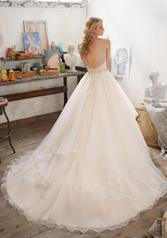 8105 Ivory/Champagne/Silver back