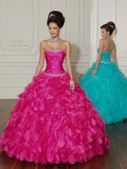 Ruffled Skirt Ballgown