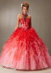 89050 Scarlet/Pink Ombr front
