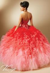 89050 Scarlet/Pink Ombr back